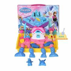 Jual Mainan Pasir Ajaib Kinetik Play Model Magic Cosmic Sand Frozen Dengan Beauty Fairy Dan Rumah Hello Kitty Grosir