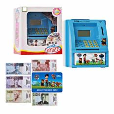Mainan pembelajaran menabung Celengan ATM