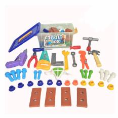Mainan Peralatan Bengkel Tools Container   Mainan Edukasi Anak Alat Tukang