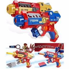 Spesifikasi Mainan Pistol Avenger Nerf Gun Soft Bullet Peluru Lengkap Dengan Harga