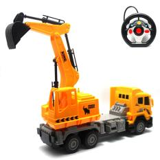 Mainan Remote Control RC Excavator Max Truck