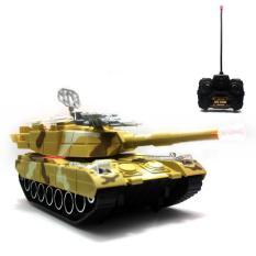 Beli Mainan Remote Control Rc Tank Brown Hunter Special Edition Murah
