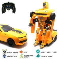 Dimana Beli Mainan Mobil Remote Control Rc Transformer Bumble Bee Car Yoyo
