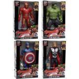 Beli Mainan Robot Avenger 2 Set Of 4 Captain America Hulk Iron Man Thor Dengan Kartu Kredit