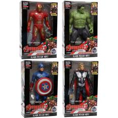 Jual Mainan Robot Avenger 2 Set Of 4 Captain America Hulk Iron Man Thor Grosir