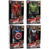 Beli Mainan Robot Avenger 2 Set Of 4 Captain America Hulk Iron Man Thor Universal Online