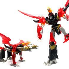 Harga Hemat Mainan Robot Transformer Optimus Fire Dragonking
