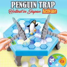 Spesifikasi Mainan Save Penguin Trap Edukasi Ice Breaking Knock Ice Block Desktop Bagus
