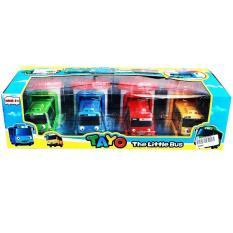 Jual Mainan Set Tayo Garasi Isi 4 Tayo The Little Bus Garage Online Jawa Timur
