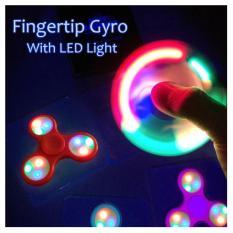 Jual Beli Online Mainan Tangan Kreatif Led 3 Mode Finger Spinner Led Kelap Kelip Otomatis