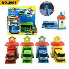 Mainan Tayo Bus Garasi Pull and Go Mainan Kendaraan Anak