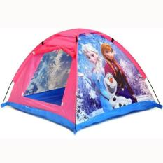 Mainan Tenda Rumah Segitiga Anak Frozen