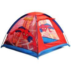 Mainan Tenda Rumah Segitiga Anak Spiderman