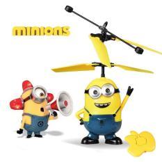 Mainan Terbang - Karakter MINIONS - Ball Flash Disco Drone