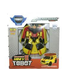 Diskon Mainan Tobot Mini V Ii Transformer Robot Mobil Kuning Akhir Tahun