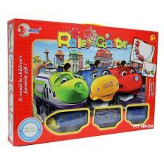 Mainan Track Roller Coaster Chuggington Mainan Anak Laki Laki