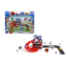 Mainan Transformable Parking Robocar Poli 660-197