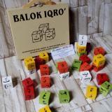 Beli Mainanalfaqih Mainan Edukasi Anak Mainan Kayu Edukatif Balok Iqro Online Terpercaya