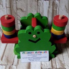 Mainanalfaqih - Mainan Edukatif Anak - Mainan Edukasi - Timbangan Bentuk Katak
