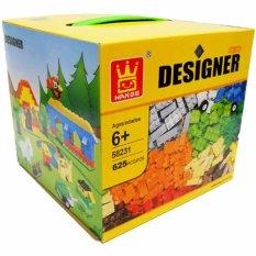 mainananakbaby - Lego Wange Designer 58231 Building Blocks compatible Bricks 625 pcs