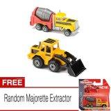 Spesifikasi Majorette Extractor Cement Truck Front Loader Gratis Majorette Extractor Lengkap