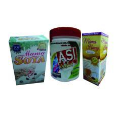 Ulasan Mengenai Mama Soya 1Pcs Asi Booster Tea 1Pcs Madu Busui 1Pcs Paket Pelancar Asi