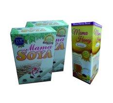 Harga Mama Soya 2Pcs Madu Busui 1Pcs Paket Pelancar Asi Lengkap