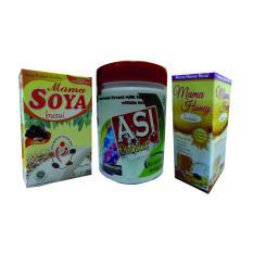 Harga Termurah Mama Soya Coklat Asi Booster Tea Madu Busui Paket Pelancar Asi