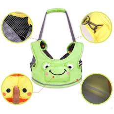 Mambo Baby Walker Balita Harness Backpack Bouncer Jumper Membantu Belajar Berjalan Asisten Hijau Aman Bayi Sabuk