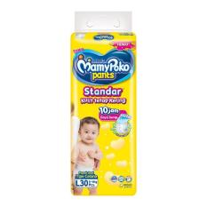 Review Mamy Poko Pants Standart L 30 Indonesia