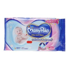 Mamypoko Baby Wipes Non Alcohol - Perfumed - 52 Lembar
