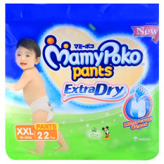 Review Mamypoko Extra Dry Pants Mickey Xxl22 Indonesia