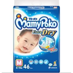 Mamypoko Extra Dry Perekat Popok Bayi Dan Anak Unisex Size M - 46