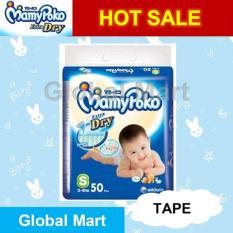 Harga Termurah Mamypoko Extra Dry Tape S50 Pengiriman Cepat