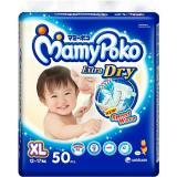 Mamypoko Extra Dry Tape Xl 50 Dki Jakarta Diskon