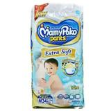 Spesifikasi Mamypoko Extra Soft Boys M34 Merk Mamypoko