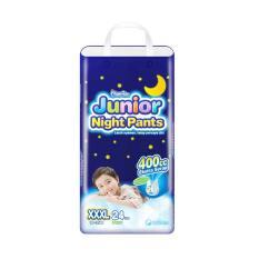 Spesifikasi Mamypoko Junior Night Pants Xxxl 24 Boy Online