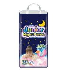 Harga Hemat Mamypoko Junior Night Pants Xxxl24 Girls