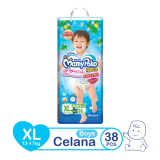 Mamypoko Pants Air Fit Popok Anak Laki Laki Xl 38 Original