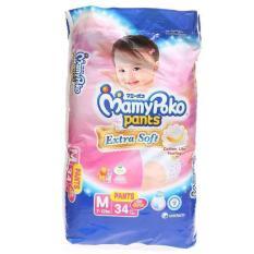 Mamypoko Pants Extra Soft M 34 G*Rl Mamypoko Diskon 30