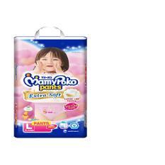 Review Terbaik Mamypoko Pants Extrasoft Popok Bayi Dan Anak Girls Diapers Tipe Celana Size L 28 Pcs 2 Pack 56 Pcs