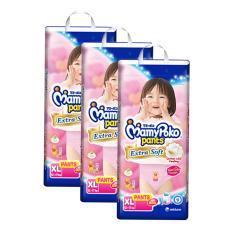 Obral Mamypoko Pants Extrasoft Popok Bayi Dan Anak Girls Diapers Tipe Celana Size Xl 24 Pcs 2 Pack 48 Pcs Murah