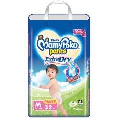 Spesifikasi Mamypoko Popok Pants Extra Dry M 32 Yang Bagus
