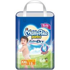 Spesifikasi Mamypoko Popok Pants Extra Dry Xxl 15 Lengkap