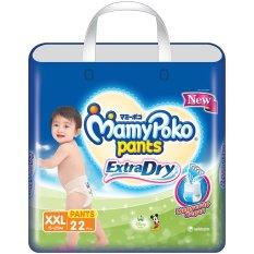Spesifikasi Mamypoko Popok Pants Extra Dry Xxl 22 Yang Bagus