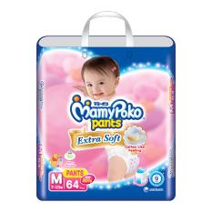 Promo Toko Mamypoko Popok Pants Extra Soft M64 Girls