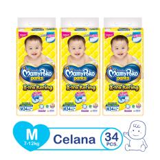 Toko Mamypoko Popok Pants Standard M 34 Isi 3 Exclusive Packaging Mamypoko Online
