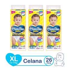 Review Terbaik Mamypoko Popok Pants Standard Xl 26 Isi 3 Exclusive Packaging