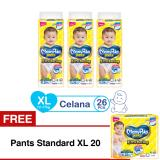 Jual Mamypoko Popok Pants Standard Xl 26 Isi 3 Exclusive Packaging Free Pants Standard Xl 20 Branded