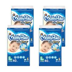 Harga Mamypoko Popok Tape Extra Dry L 40 Karton Isi 4 Terbaik